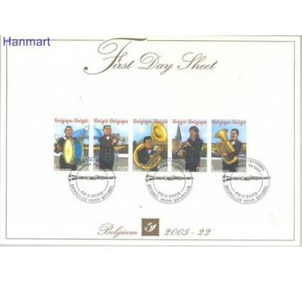 Znaczek Belgia 2005 Mi 3507-3511 FDC