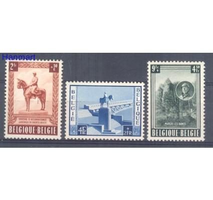 Znaczek Belgia 1954 Mi 989-991 Czyste **