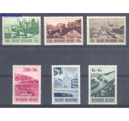 Znaczek Belgia 1953 Mi 967-972 Czyste **