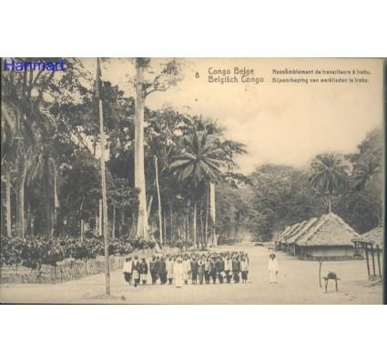 Znaczek Kongo Kinszasa / Zair  Mi 8 Całostka pocztowa