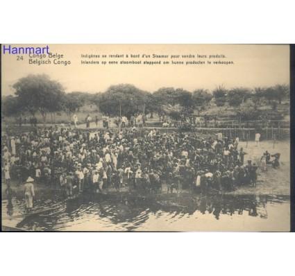 Znaczek Kongo Kinszasa / Zair  Mi 24 Całostka pocztowa