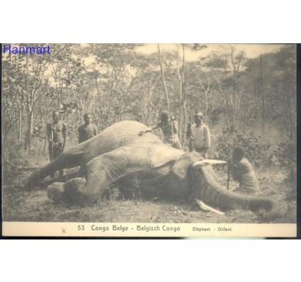 Znaczek Kongo Kinszasa / Zair  Mi 53 Całostka pocztowa