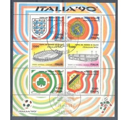 Znaczek Włochy 1990 Mi bl 8 Stemplowane