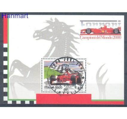 Znaczek Włochy 2001 Stemplowane