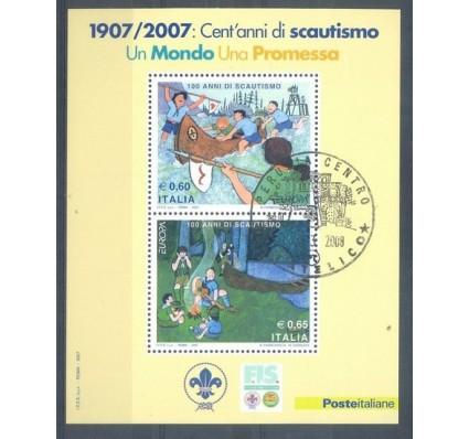 Znaczek Włochy 2007 Stemplowane