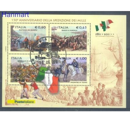 Znaczek Włochy 2010 Stemplowane