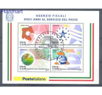 Znaczek Włochy 2011 Mi bl 52 Stemplowane