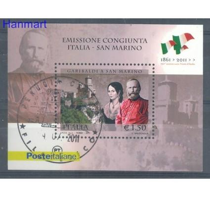 Znaczek Włochy 2011 Mi bl 63 Stemplowane