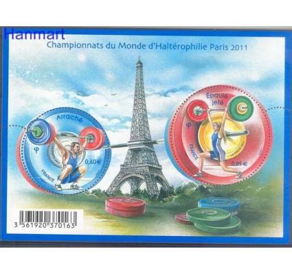 Znaczek Francja 2011 Mi bl 162 Czyste **