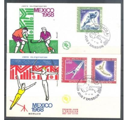 Znaczek Monako 1968 FDC