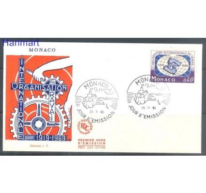Znaczek Monako 1969 FDC
