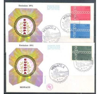 Znaczek Monako 1971 FDC