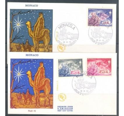 Znaczek Monako 1972 Mi 1054-1056 FDC