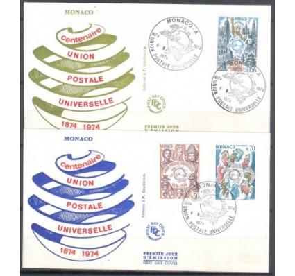 Znaczek Monako 1974 FDC