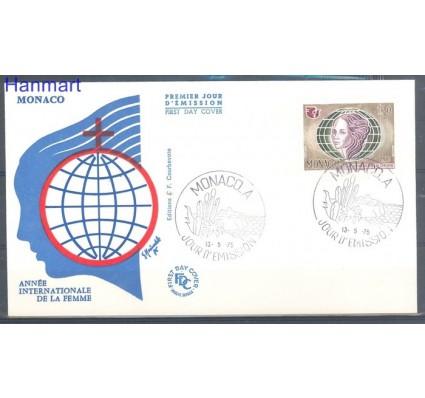 Znaczek Monako 1975 FDC