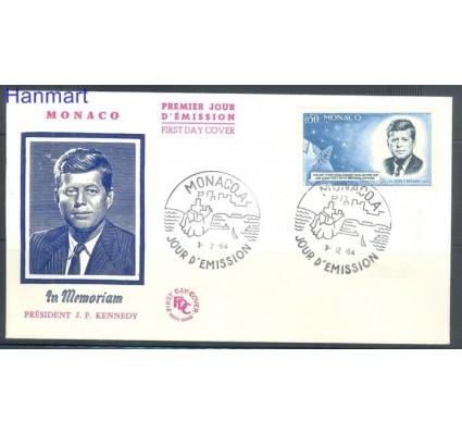 Znaczek Monako 1964 Mi 789 FDC