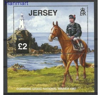 Znaczek Jersey 2013 Mi bl 105 Czyste **