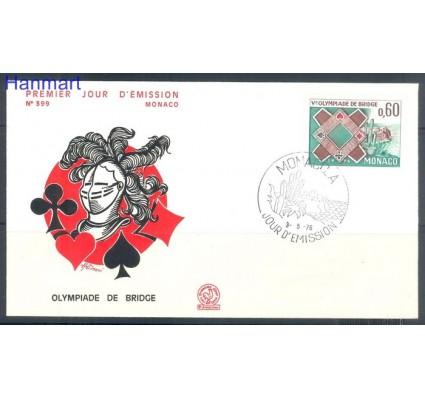 Znaczek Monako 1976 Mi 1220 FDC