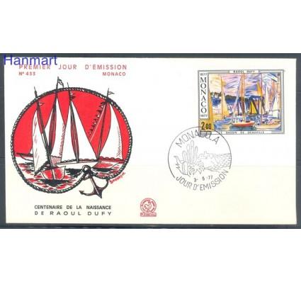 Znaczek Monako 1977 Mi 1269 FDC