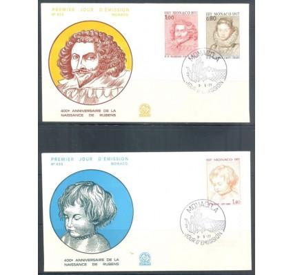 Znaczek Monako 1977 Mi 1270-1272 FDC