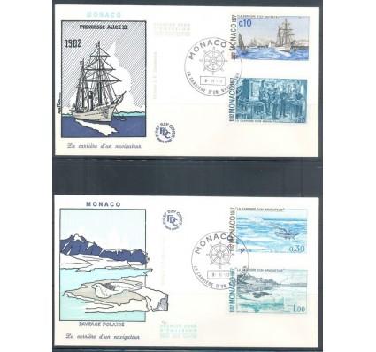 Znaczek Monako 1977 Mi 1279-1287 FDC