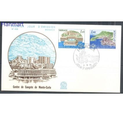 Znaczek Monako 1978 Mi 1313-1314 FDC