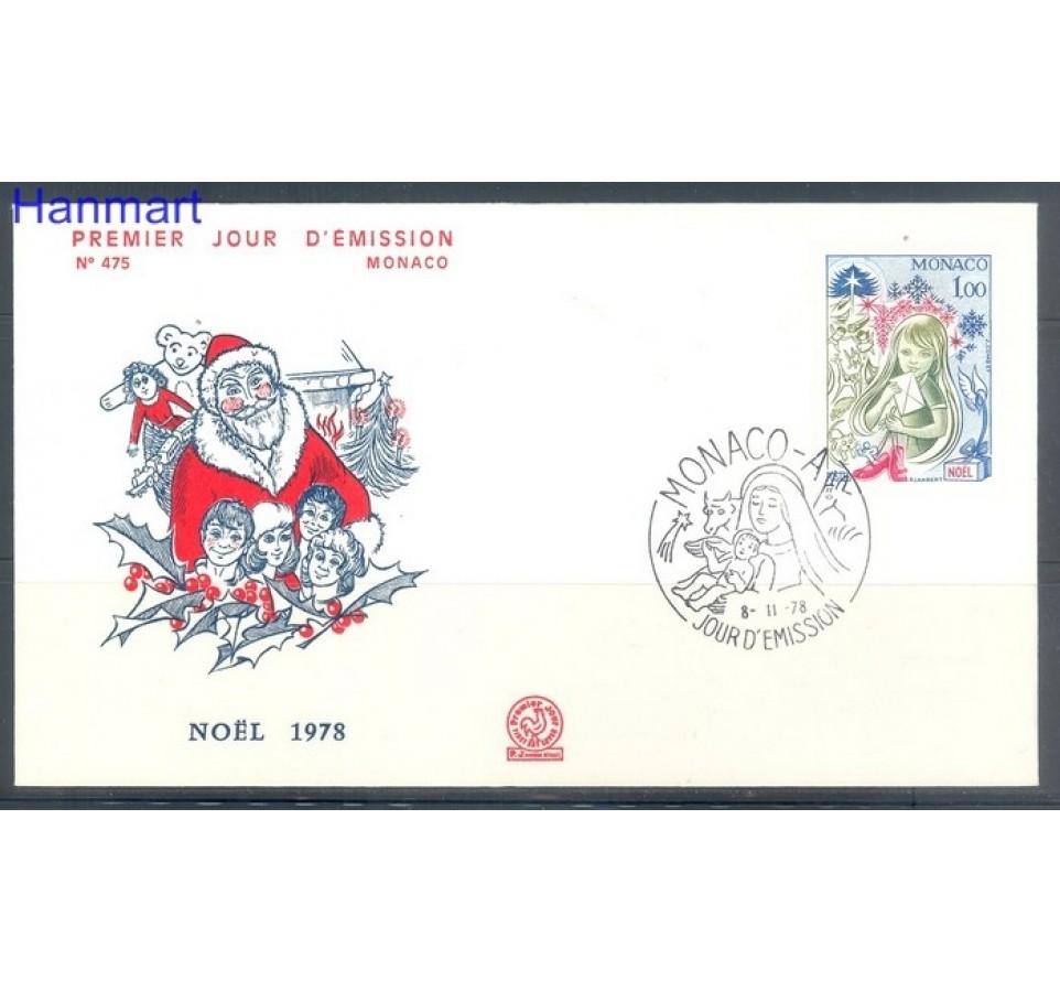 Monako 1978 Mi 1349 FDC