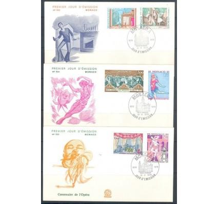 Znaczek Monako 1979 Mi 1384-1389 FDC