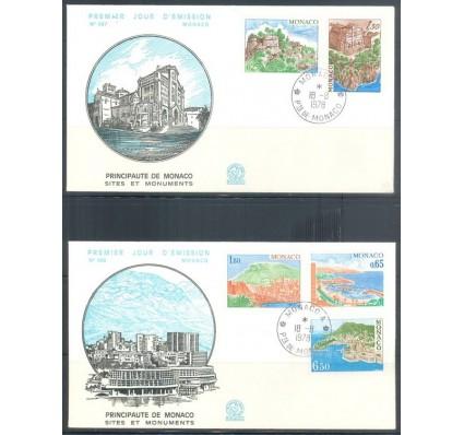 Znaczek Monako 1978 Mi 1331-1335 FDC