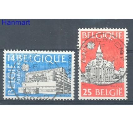 Znaczek Belgia 1990 Mi 2419-2420 Stemplowane
