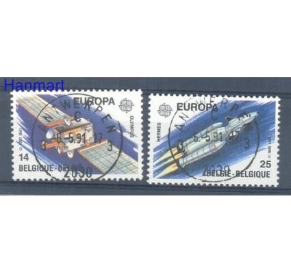 Znaczek Belgia 1991 Mi 2458-2459 Stemplowane