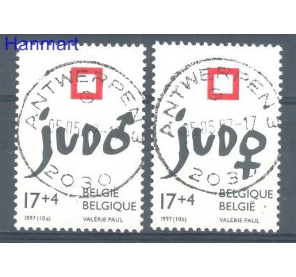 Znaczek Belgia 1997 Mi 2755-2756 Stemplowane