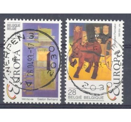 Znaczek Belgia 1993 Mi 2553-2554 Stemplowane