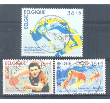 Znaczek Belgia 1996 Mi 2698-2700 Stemplowane