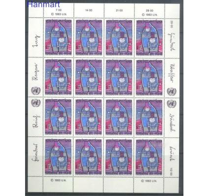 Znaczek Narody Zjednoczone Wiedeń 1983 Mi 36-37 Czyste **