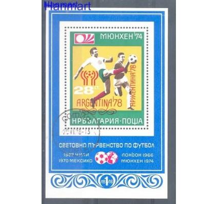 Znaczek Bułgaria 1978 Mi bl 76 Stemplowane