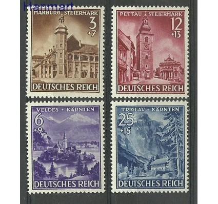 Znaczek Deutsches Reich / III Rzesza 1941 Mi 806-809 Czyste **