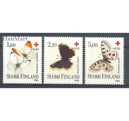 Znaczek Finlandia 1986 Mi 993-995 Czyste **
