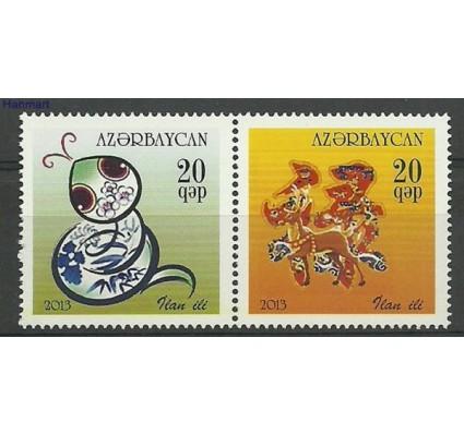 Znaczek Azerbejdżan 2013 Mi 969-970 Czyste **