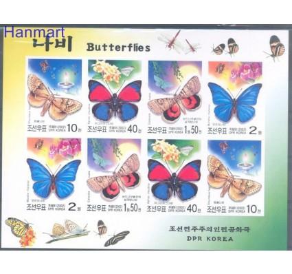 Znaczek Korea Północna 2002 Mi ark 4569-4572B Czyste **