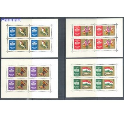 Znaczek Węgry 1961 Mi 1783-1786 Czyste **