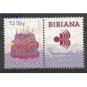 Słowacja 2012 Mi zf 683 Czyste **