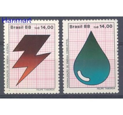 Znaczek Brazylia 1988 Mi 2245-2246 Czyste **