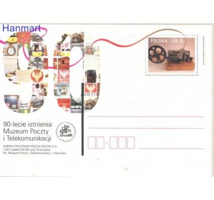 Znaczek Polska 2011 Fi Cp 1557 Całostka pocztowa