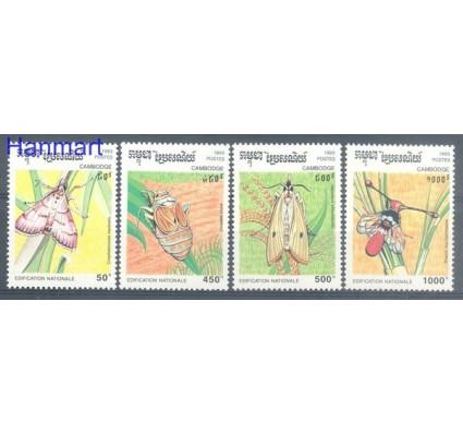 Znaczek Kambodża 1993 Mi 1397-1400 Czyste **