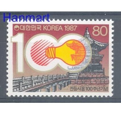 Znaczek Korea Południowa 1987 Mi 1512 Czyste **