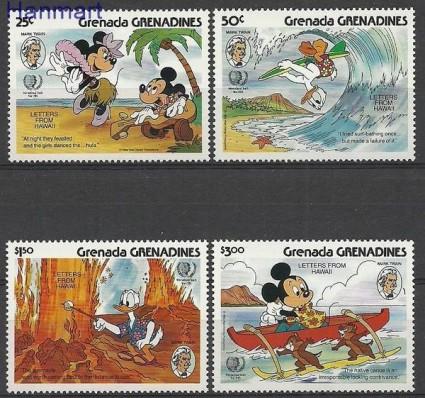 Znaczek Grenada i Grenadyny 1985 Mi 721-724 Czyste **