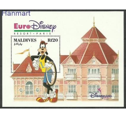Znaczek Malediwy 1992 Mi bl 267 Czyste **