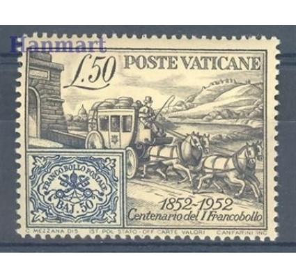 Znaczek Watykan 1952 Mi 188A Czyste **