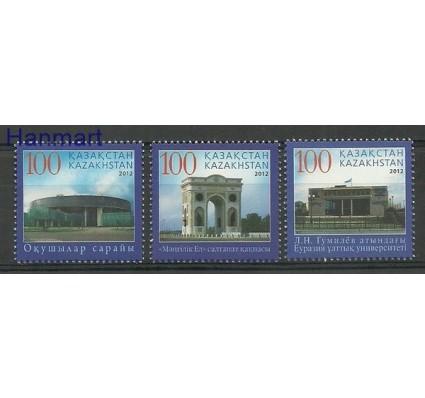 Znaczek Kazachstan 2012 Mi 770-772 Czyste **